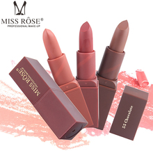Miss Rose Brand New lips Matte Moisturizing Lipstick Makeup Lipsticks Lipstick Waterproof Lip Gloss Matte Lipsticks Make up