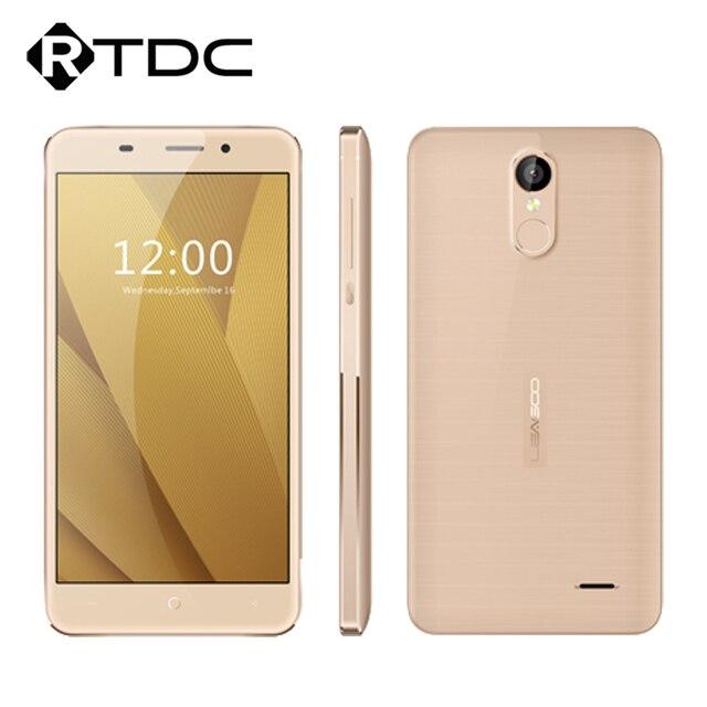 """Оригинал Leagoo M5 Плюс 5.5 """"HD Quad Core 2 ГБ RAM 16 ГБ ROM MTK6737 Android 6.0 13.0MP 1280x720 Отпечатков Пальцев 4 Г LTE Mobile телефон"""