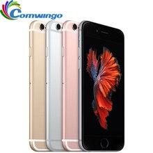 هاتف Apple iPhone 6S/ 6s Plus أصلي غير مقفول بذاكرة وصول عشوائي 2 جيجا بايت وذاكرة قراءة فقط 16/64/128 جيجا بايت ومعالج ثنائي النواة وشاشة 4.7 بوصة/5.5 بوصة وبدقة 12.0 ميجا بيكسل هاتف iphone6s LTE