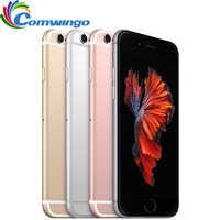 "Original desbloqueado Apple iPhone 6S/6 s Plus teléfono celular 2GB de RAM 16/64/128GB ROM Dual Core 4,7 ""/5,5"" 12.0MP iphone 6s teléfono LTE"