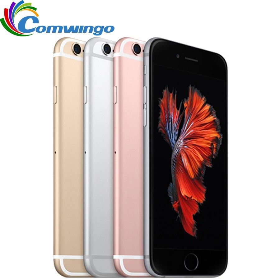 Original desbloqueado apple iphone 6 s/6 s mais telefone celular 2 gb ram 16/64/128 gb rom duplo núcleo 4.7 12.12./ 5.5 12.12.0mp iphone 6s lte telefone