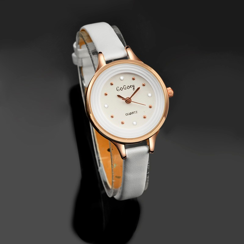 Watches Women New Style Brand Elegant Small Dial Fashion Ladies Watch Casual White Leather Wristwatch relojes mujer montre saat brand new fashion watches women casual cat pattern wristwatch for girl quartz cartoon watch saat hours relojes gift ladies watch