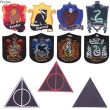 Prajna Patches The Deathly Hallows Iron On Embroidery For Clothing Jeans Applique Stranger Things Stickers