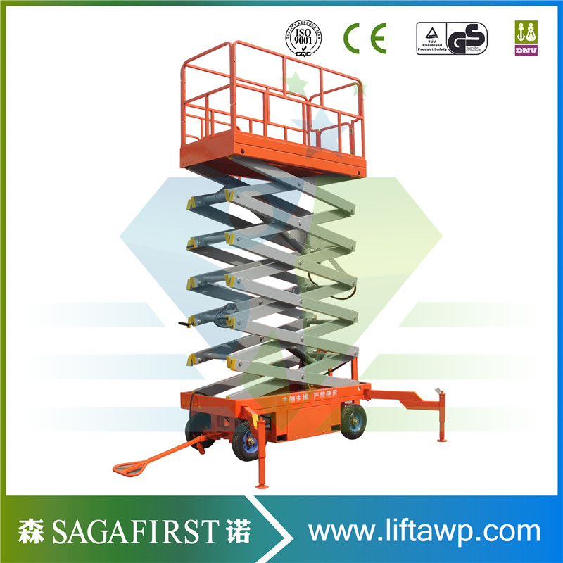 High End Electric Self Propellled Scissor Lift