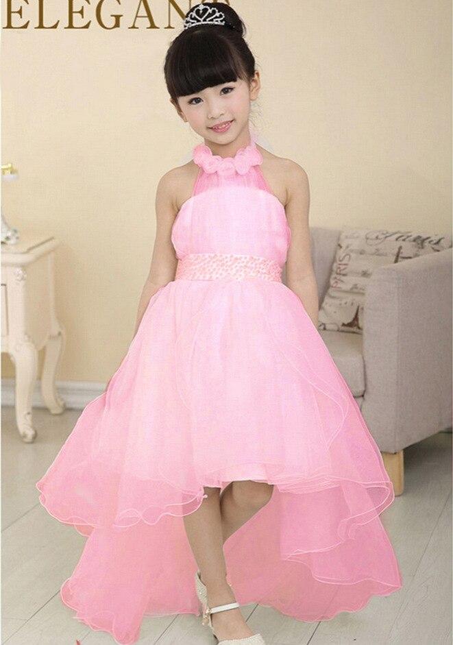 Elegant flower girls dress children 39 s princess cute baby for Dress for wedding for girls
