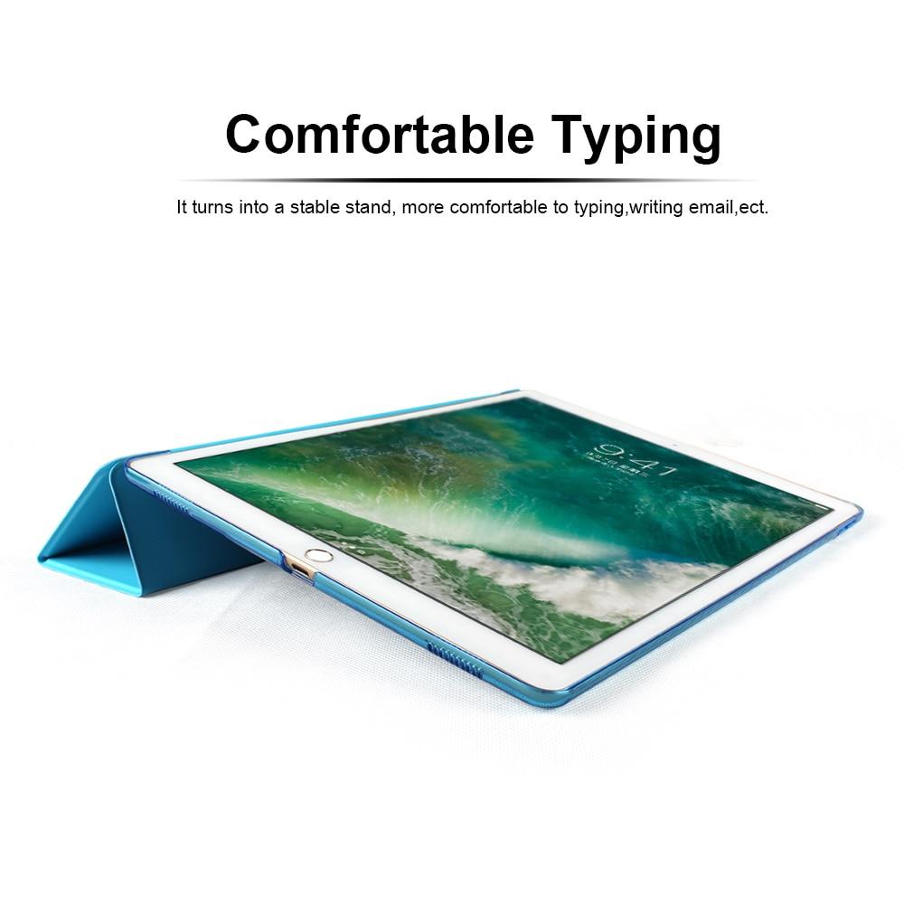 Ultra Slim Cerdas Kasus Cover untuk Apple iPad Pro 12.9 2015 2016 - Aksesori tablet - Foto 4