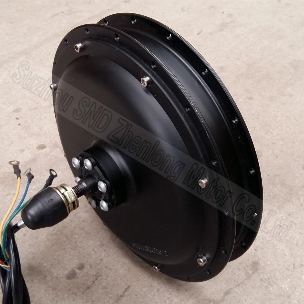 Electric bike rear spoke hub motor 48v 500w top quality for Electric bike rear hub motor