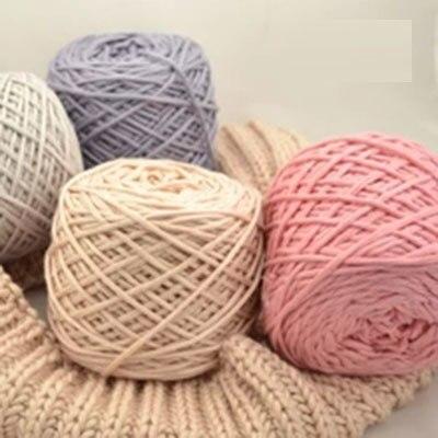 400 g gros fil de coton pour crochet laine balles skeins acrylique fil pas cher fils tricoter. Black Bedroom Furniture Sets. Home Design Ideas