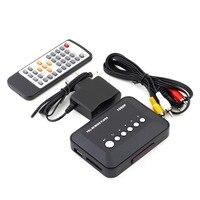 1Pcs Freeshipping 1080P HD SD MMC TV Videos SD MMC RMVB MP3 Multi TV USB HDMI