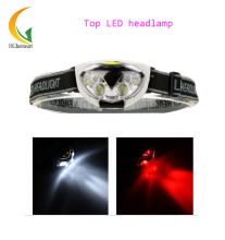 1200 Lumens 6 LED Headlight 3 Modes Water Resistant Outdoor Headlamp Head Light for Camping Hiking Cycling