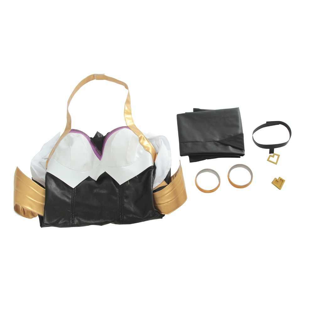 ROLECOS oyun LOL Cosplay kostümleri grubu K/DA Ahri kurşun vokal seksi elbise kostümleri grubu KDA Ahri kadınlar için cosplay kostümleri