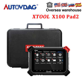 Original XTOOL X100 PAD2 Auto Key Programmer car-detector PIN Code Reading Battery Reset EPB TPS Oil Reset OBDII Diagnosis