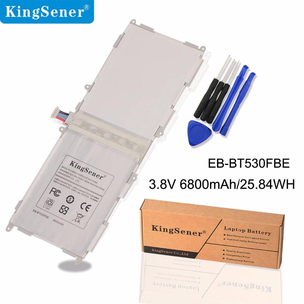 SAMSUNG Galaxy Tab 4 üçün KingSener EB-BT530FBE EB-BT530FBC Batareya 10.1 T530 T531 T535 SM-T535 T533 SM-T537 T530NU EB-BT530FBU