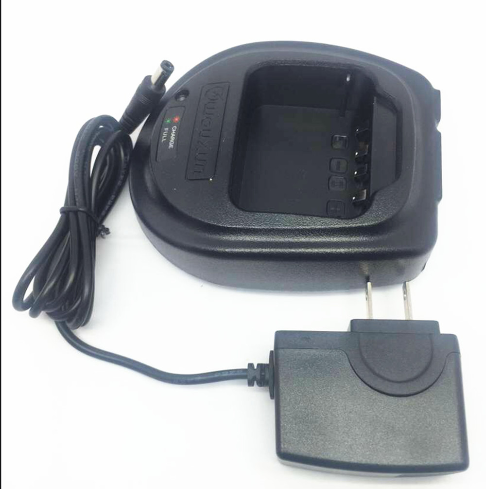 Original 110 220V charger for wouxun KG UVD1P KG 699E kg 679 KG UV6D kg 689 etc walkie talkie in Walkie Talkie Parts Accessories from Cellphones Telecommunications
