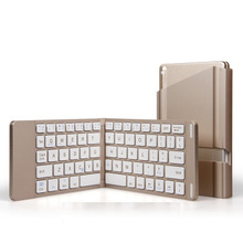 Bluetooth Wi-fi Foldable Full Dimension Keypad Transportable Keyboard With Holder Stand For iphone SAMSUNG ipad PC Pill