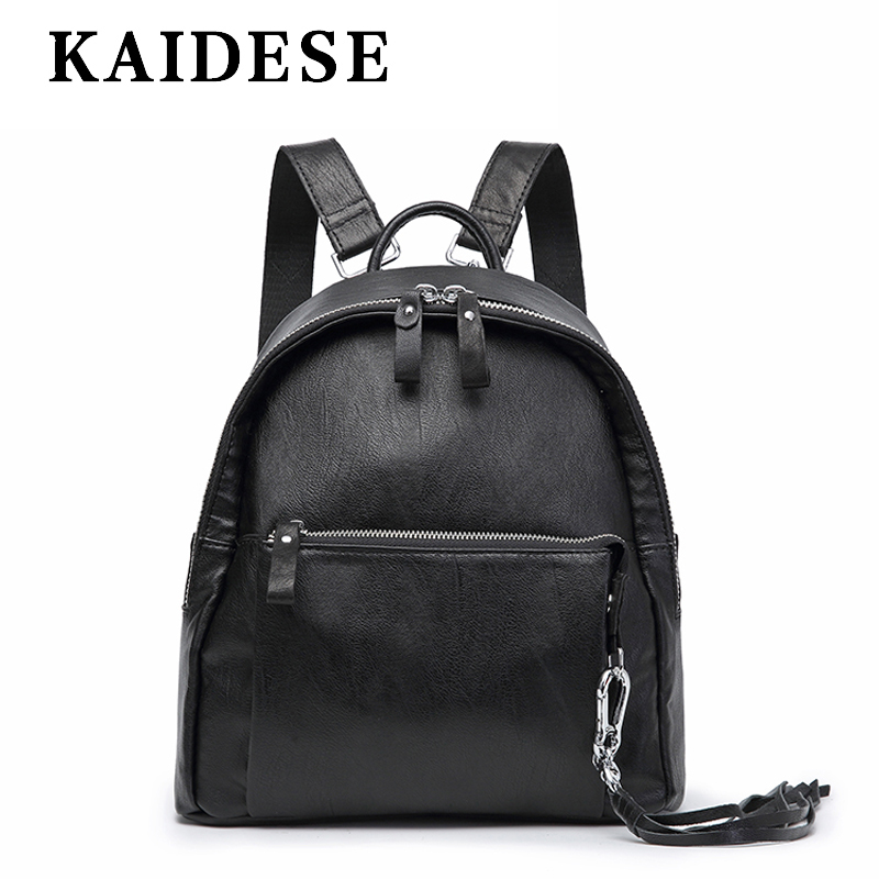 KAIDESE Europe and America fashion youth shoulder bag 2018 new leisure lady Travel Backpack Korea college wind shoulder bag 2017 new fashion travel backpack lady shoulder bag leisure student bag soft kraft paper lady bag environmental bag f99