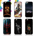 The Legend of Zelda Breath of the Wild Sheikah Slate Cover Case For iPhone X 10 5 5S 6 6S 7 8 Plus Samsung Galaxy S8 S9 S7 edge