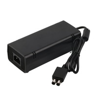 12 v 135 w ac adapter oplader netsnoer kabel voor xbox360 xbox 360 slim eu plug in voorraad gratis verzending