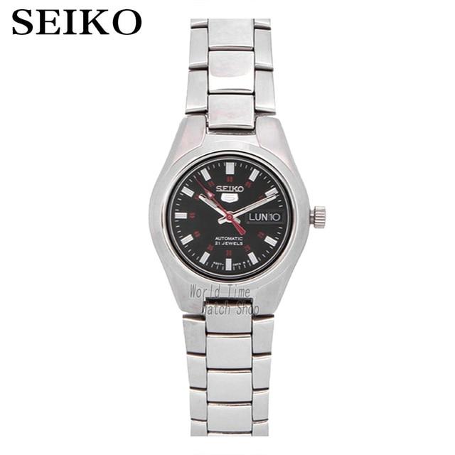 92f4d942440 SEIKO watch 5 Sports Automatic Cinco SYMC27K1 SYMC21K1 Relógio da Mulher
