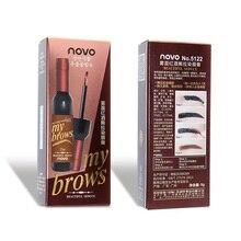 Peel Off Tattoo Wine Bottle Brow Gel Eyebrow