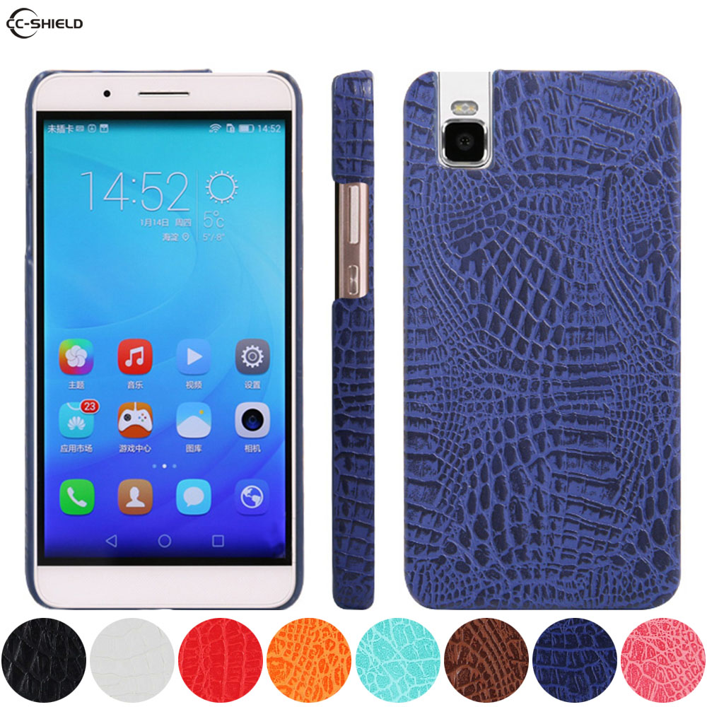 Leather Case for Huawei Shot X ATH-UL01 ATH-UL06 Phone Bumper Fitted Case for Huawei ShotX ATH UL01 UL06 Hard PC Frame Cover