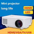 2015 новое кино HD 1080 P 3D видео тв жк-цифровой tft-hdmi USB портативный домашний кинотеатр из светодиодов проектор Projektor Proyector лучемет