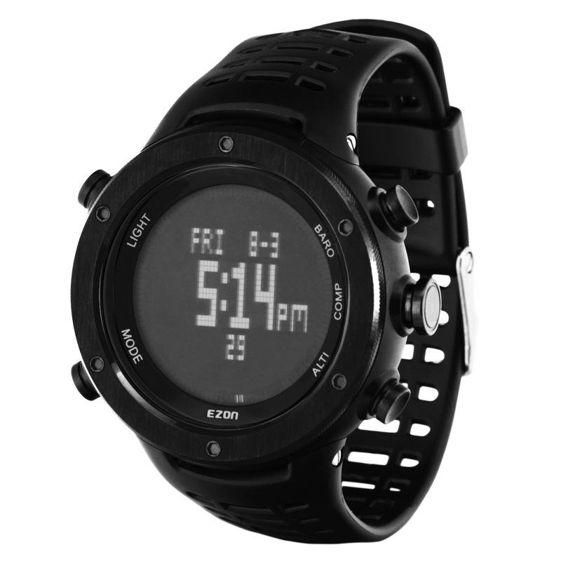 ezon watch H001B01 Mens Sports Climbing Smart wrist watch with Compass Altimeter Barometer