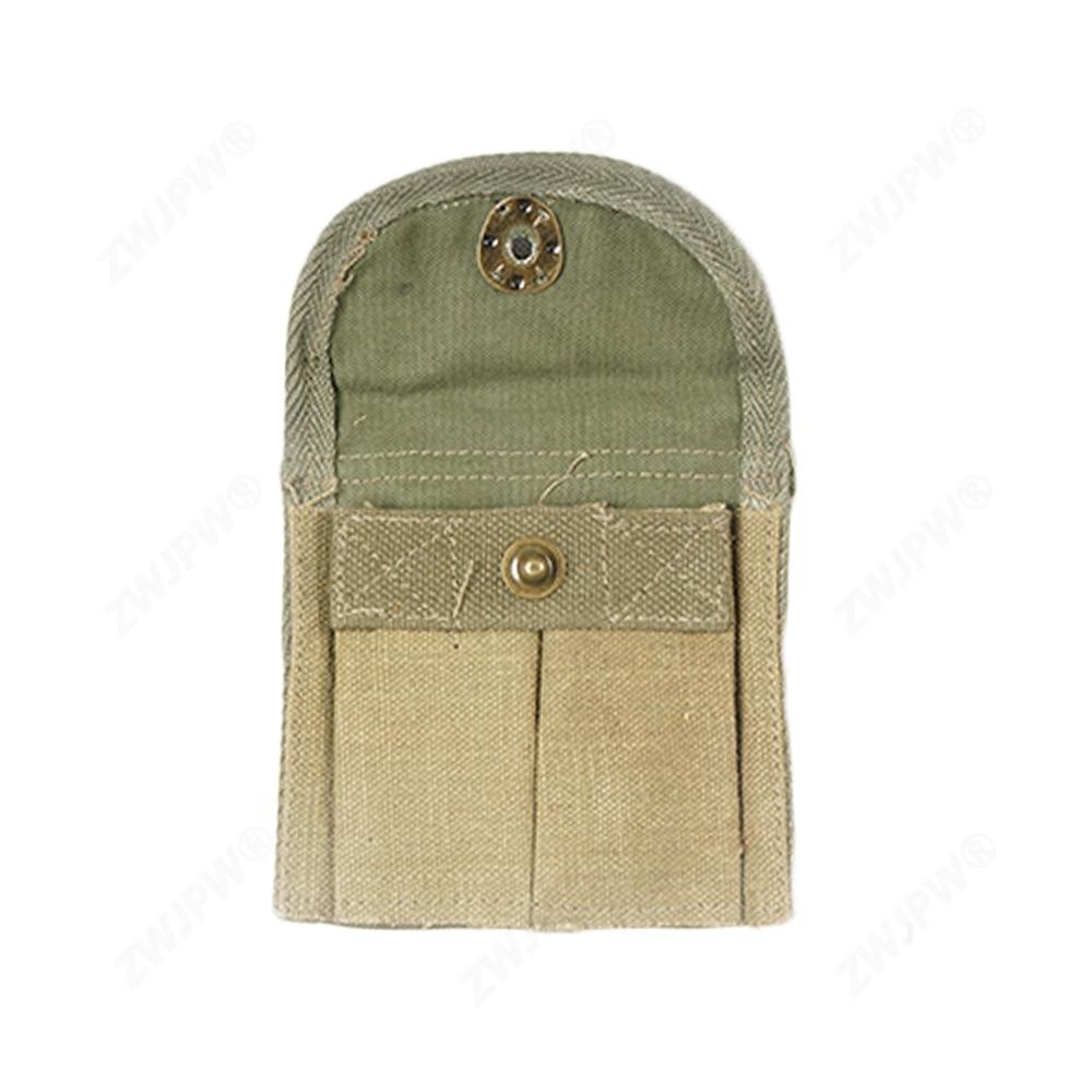 WWII U.S ARMY M1 GARAND CARBINE CANVAS DUSTPROOF MUZZLE COVER KHAKI CANVAS PACK