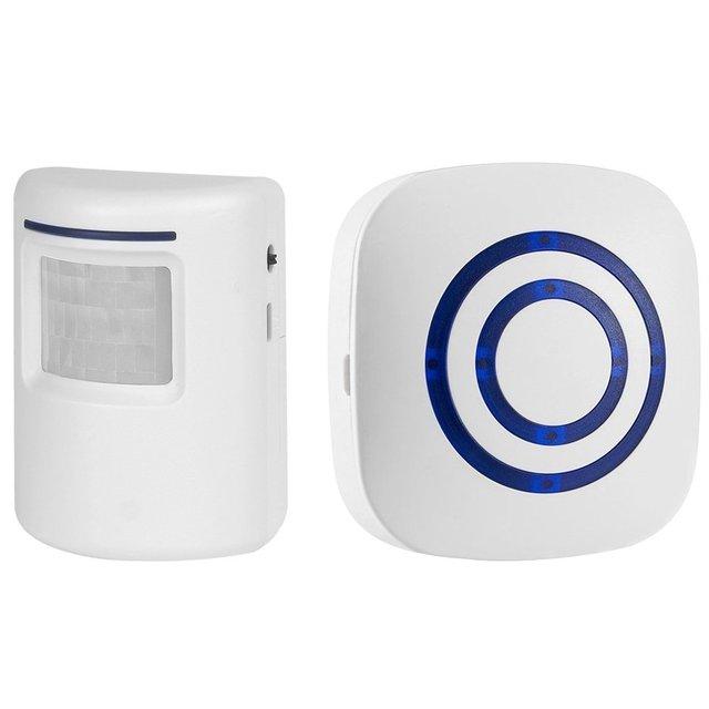 Home Security Alarm PIR Motion Sensor Alarm Chime Wireless Driveway Alert Detector Doorbell Security Burglar Alert  sc 1 st  AliExpress.com & Home Security Alarm PIR Motion Sensor Alarm Chime Wireless Driveway ...
