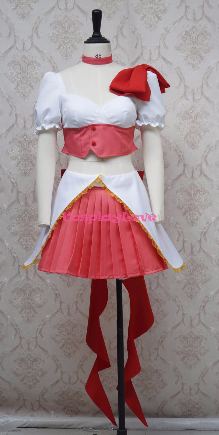 Magical Girl Ore Magical Girl Saki Uno Male Cosplay Costume Custom Made For Halloween Christmas CosplayLove
