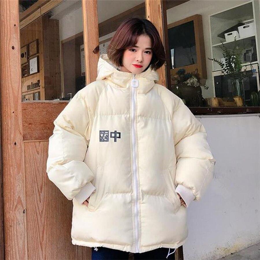 Giacca Bolla Fur Di Formato style1style2style3style4 Con Manteau Plus Cappuccio Inverno Solido Più Harajuku Il Cina Del Hiver 50e056 Delle Pane Colore Collar Donne Femme Cappotto dCBoex