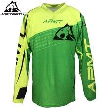 2018 armteeth мотоциклетные Джерси Quick Dry мотогонщиков носить мужские Велоспорт Рубашки для мальчиков Мотокросс одежда S-4XL
