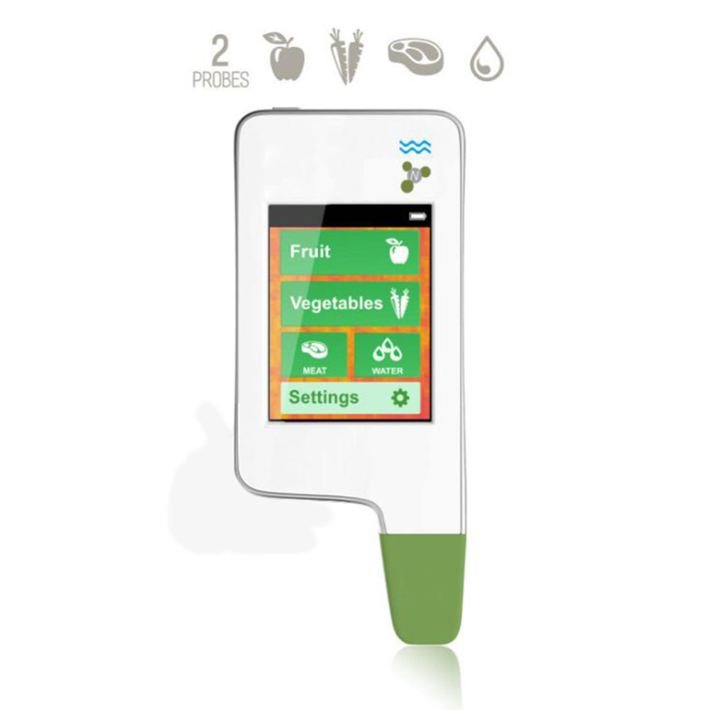 Double Probe Green Food Bao Greentest 3 Nitrate Pesticide Residue Food Detector for Vegetables Fruits Meat