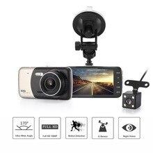 4,0 дюймов ips Экран Видеорегистраторы для автомобилей Новатэк Автомобильный Камера T810 на камеру тире Камера Full HD 1080 P видео 170 градусов