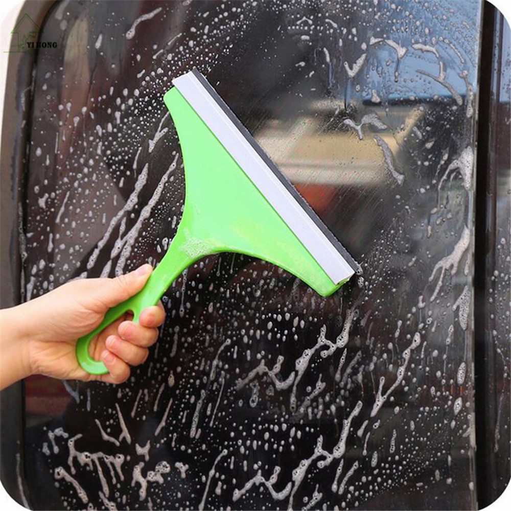 YI HONG Simple Green Car Glass Cleaner Window Wiper Cleaner Brush Household Cleaning Tools Window Cleaning Tools
