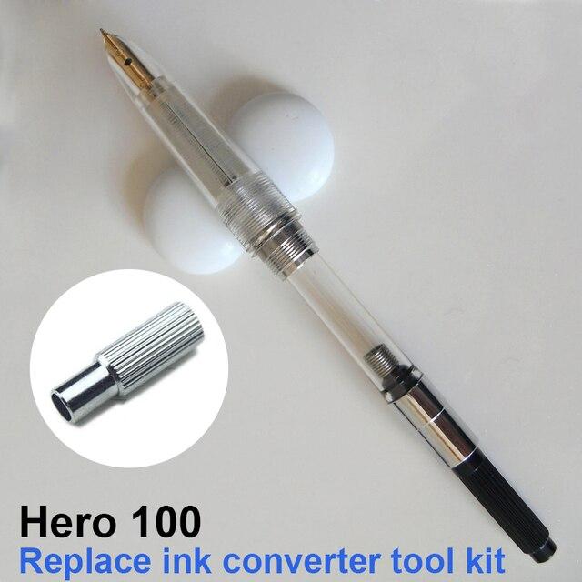 بطل 100 قلم حبر استبدال تفكيك تحويل الحبر الحبر خاص أداة مجموعة عدة
