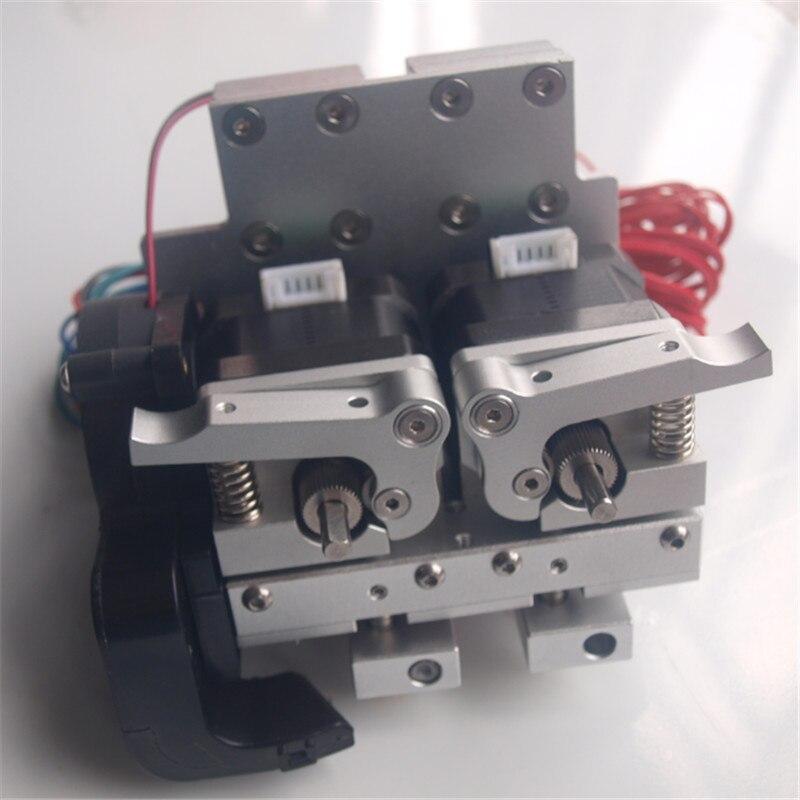 Здесь продается  Reprap Prusa i3 upgrade aluminum extrusion carriage+dual metal extruder 12V/24V PTFE linear barriel 0.4mm nozzle Blurolls  Компьютер & сеть