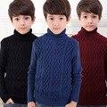 Новый высокая Quilty детские свитера мальчика свитер детская одежда fit4-14Y бесплатная доставка