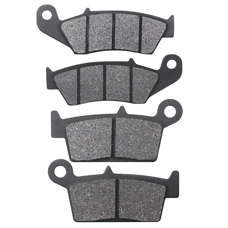 Motorcycle Front and Rear Brake Pads for YAMAHA YZ125 <font><b>YZ</b></font> <font><b>125</b></font> 1998 <font><b>1999</b></font> 2000 2001 2002 <font><b>YZ</b></font> 250 YZ250 1998-2002 image