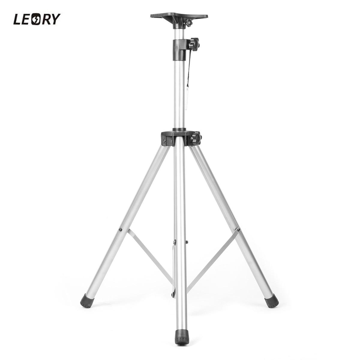 где купить LEORY 80kg Load Bearing Professional KTV Speaker Stand Mounting Bracket Loudspeaker Speaker Stand Holder Set по лучшей цене