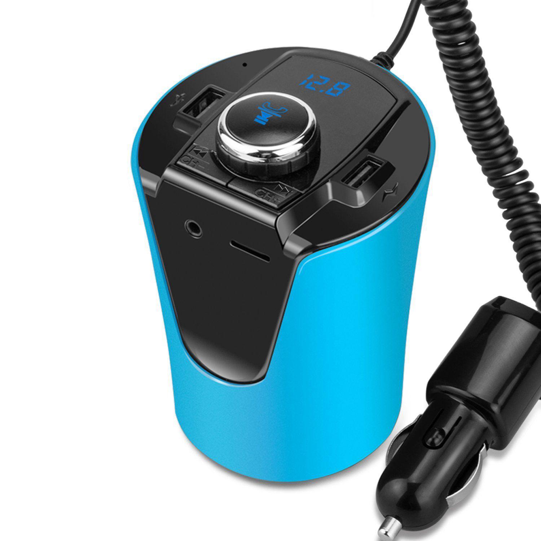 wireless bluetooth fm transmitter mp3 usb car radio aux. Black Bedroom Furniture Sets. Home Design Ideas