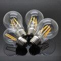 LightInBox Edison Retro Chandelier bulb Glass Housing lamp 360 degree E27 Filament led light NO Dimmable 4W 8W 12W 16W 220V 230V