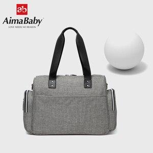 Image 3 - Luiertas детская коляска подгузник для мам вместительная сумка Органайзер для мамы + пеленка + влажная сумка + лямки для коляски