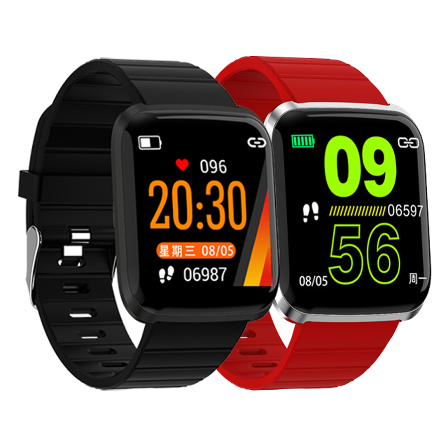 Newest 116 Pro 1.3inch Large View Smart Watch Bracelet Heart Rate Blood Pressure Multi-sport Modes Smart Watch Wristband MenNewest 116 Pro 1.3inch Large View Smart Watch Bracelet Heart Rate Blood Pressure Multi-sport Modes Smart Watch Wristband Men