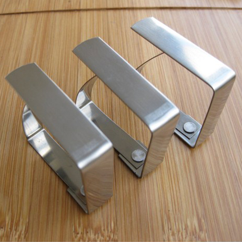 4Pcs Stainless Steel Table Cloth Tablecloth Clip Clamp Holder For Party Wedding