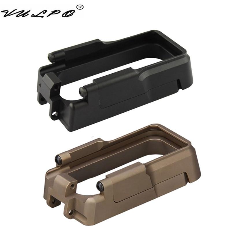 Высококачественный Тактический Журнал VULPO Magwell, изготовленный из алюминия, с ЧПУ, для AEG M4, GBB, M4 и AR-15