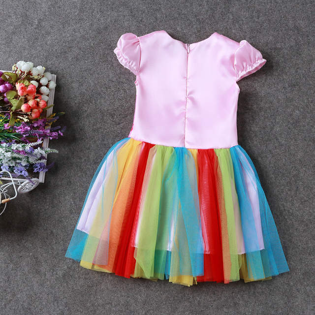 0f5cbccdcfd44 Online Shop Summer My Baby Girl fashion Cotton Dress Children Clothing  Girls little Pony Dresses Cartoon Princess Party Costume Kids Clothes