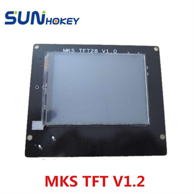 Newest Arrival  MKS TFT28 V1.2 3D Printer Reprap Smart Touch Screen Controller With Cable