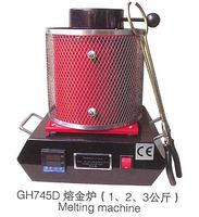 Horno de Fundición De oro Máquina de 1 kg Se Derrite de Refinación de Metales Preciosos Oro Plata Cobre Estaño De Fundición De Aluminio