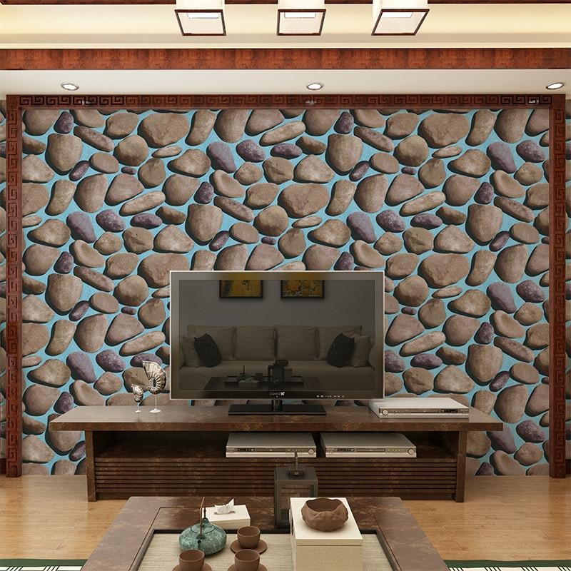 Beibehang Wallpaper Dinding Bata Modern Fashion 3D Efek Pola Batu Bata Dinding Living Room Latar Belakang
